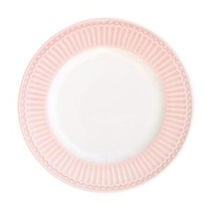 Farfurie Green Gate Alice, diametru 17,5 cm,  roz