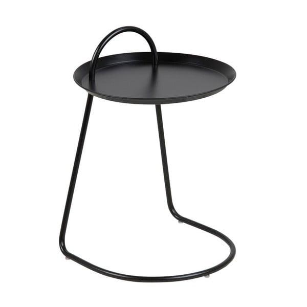 Černý příruční stolek Actona Matlock