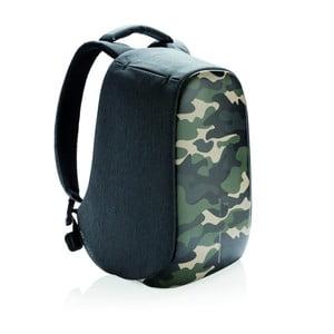 Unisex bezpečnostní batoh se zelenými detaily XD Design Camouflage