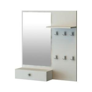 Předsíňová sestava se zrcadlem Tingo, 90 x 18 x 100 cm
