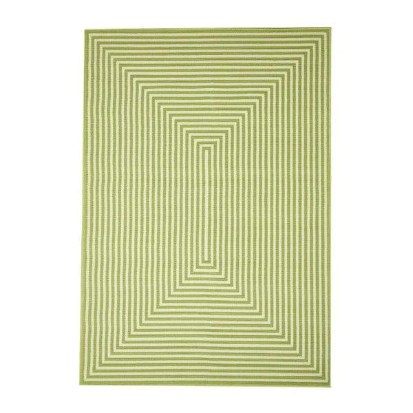 Zelený vysoce odolný koberec vhodný do exteriéru Webtappeti Braid, 200x285cm