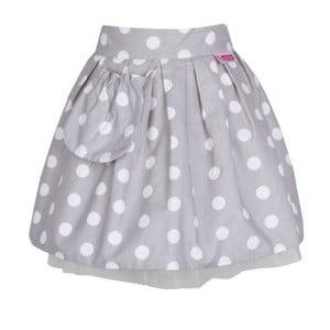 Dětská zástěra Little Princess Tulle and Grey Dots