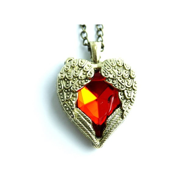 Náhrdelník Red Heart