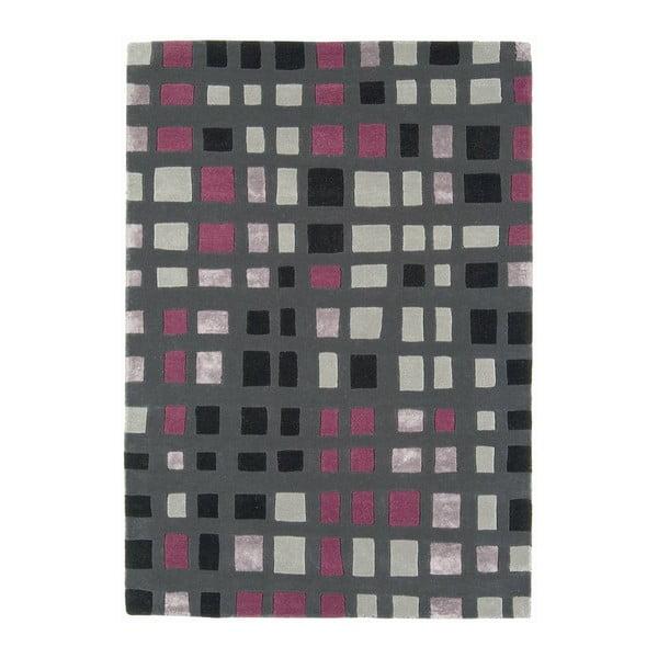 Vlněný koberec Plaza Pink 120x170 cm