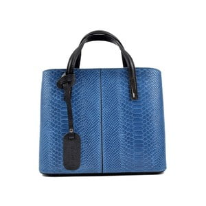 Modrá kožená kabelka Roberta M Muriella