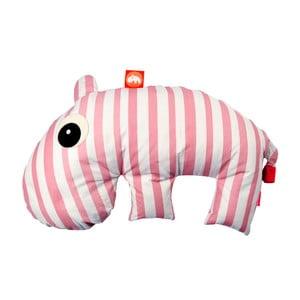 Růžovo-bílý polštářek Done by Deer Mini Sackjack