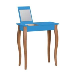 Modrý toaletní stolek se zrcadlem Ragaba Lillo, šířka65cm