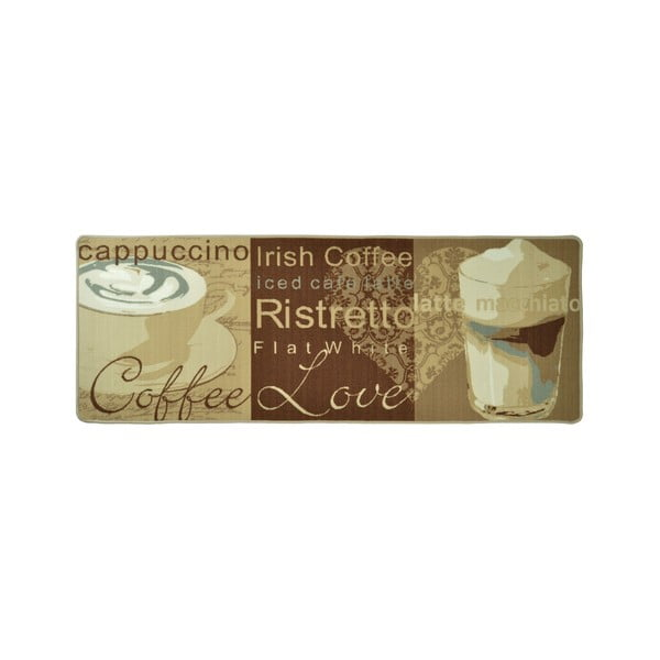 Kuchyňský běhoun Zala Living Coffee Love, 67x180cm