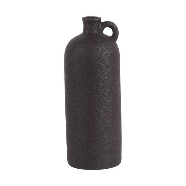 Burly fekete kerámiaváza, magasság 27cm - PT LIVING
