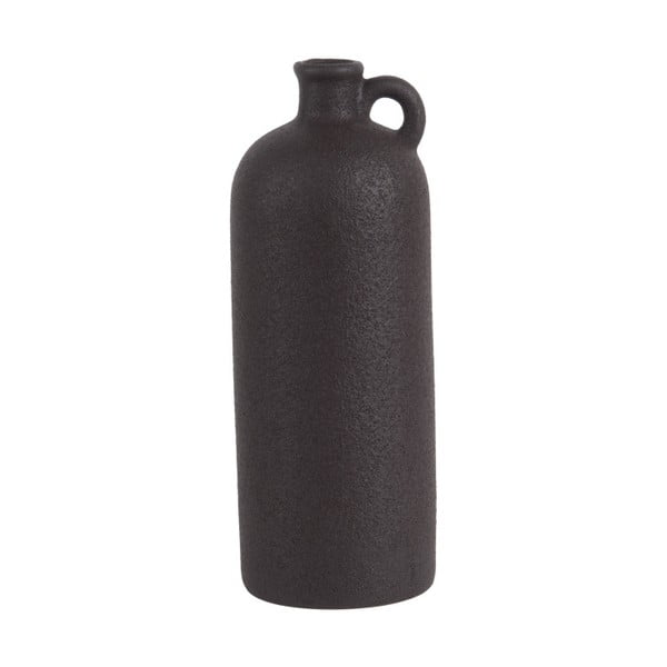 Čierna keramická váza PT LIVING Burly, výška27cm