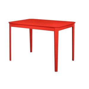 Červený jídelní stůl Støraa Trento, 76x110cm