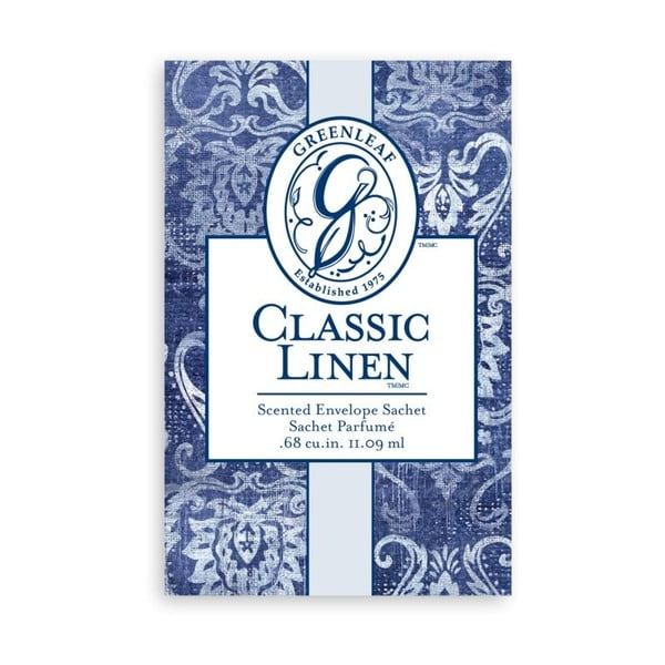 Malý vonný sáček Greenleaf Classic Linen