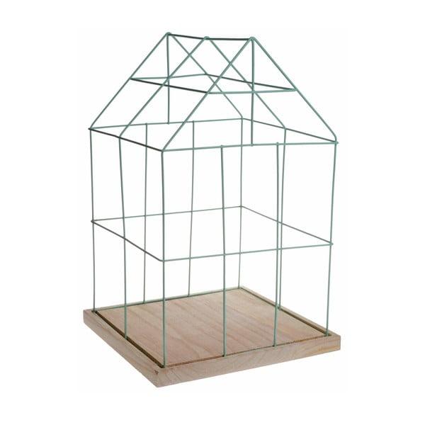 Dekorativní klec Ewax Green Cage, 41cm
