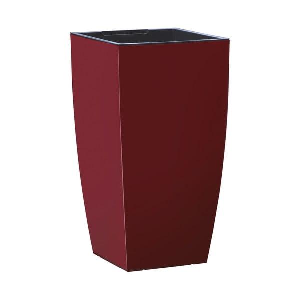 Vysoce odolný květináč Casa Brilliant 57x30 cm, rubínový