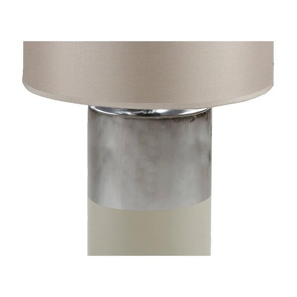 Šedá stolní lampa Santiago Pons Gara