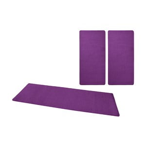 Sada fialových koberců kolem postele Hanse Home Fancy
