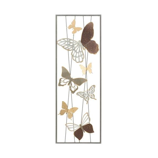 Kovová závěsná dekorace MauroFerretti ButterflySmartA, 31x89,5cm