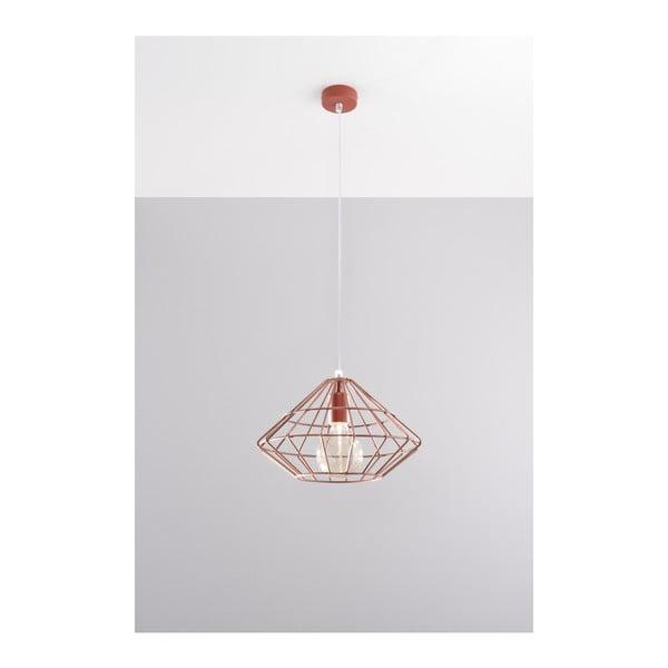 Editta réz színű függőlámpa - Nice Lamps