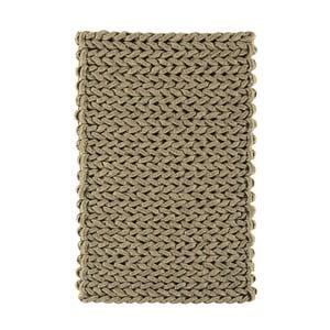 Vlněný koberec Helix Taupe, 160x230 cm