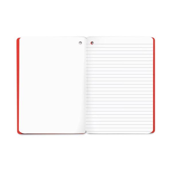 Zápisník Plumb, červený