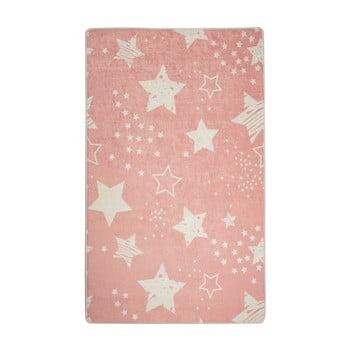Covor copii Pink Stars, 100 x 160 cm imagine
