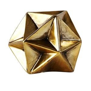 Decorațiune statuetă KJ Collection Geometry Gold