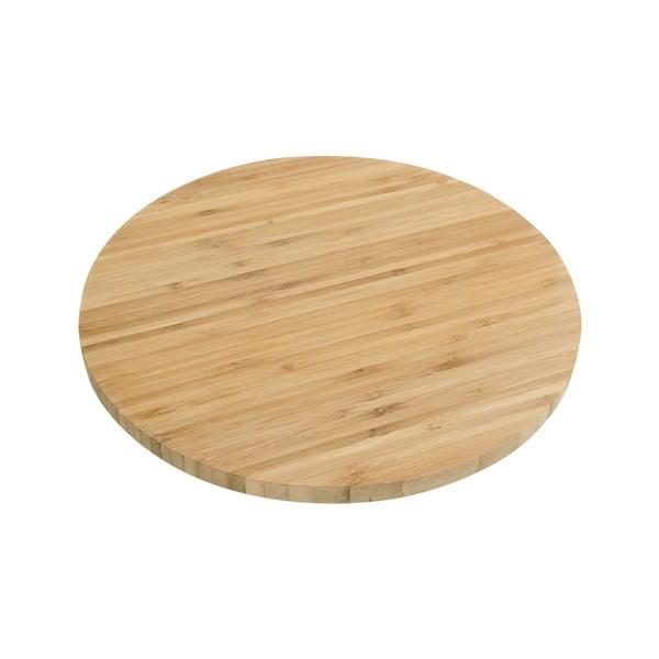 Tavă pentru servit din bambus Magnos, ø35cm