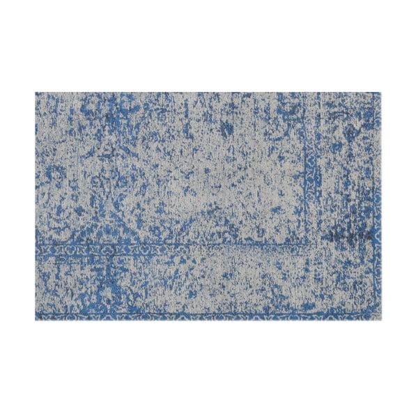 Vlněný koberec Canada, 160x230 cm, modrý