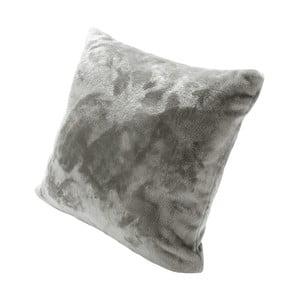 Pernă cu umplutură Biederlack Uni Silber, 50 x 50 cm