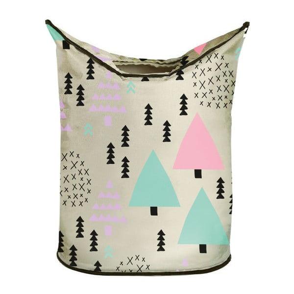Koš na prádlo Pastel Forest