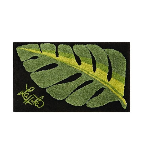 Koupelnová předložka Leaf, 60x100 cm