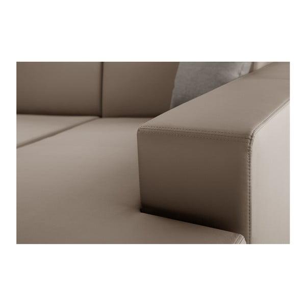 Karamelová sedačka Interieur De Famille Paris Tresor, pravý roh