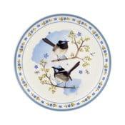Dezertní talíř z kostního porcelánu Ashdene Plume&Perch, ⌀15cm