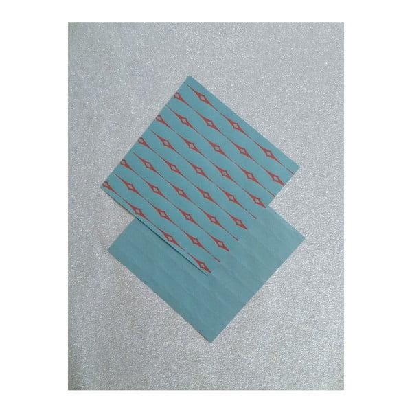 Růžovo-zelené origami papíry Calico