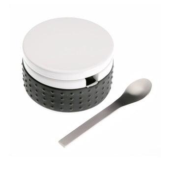 Set zaharniță cu lingură Versa, negru imagine
