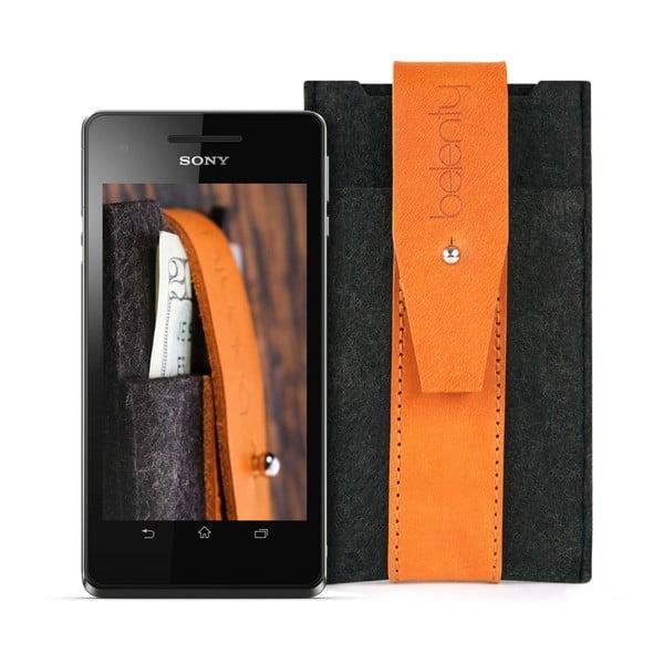 Pouzdro na Sony Xperia V Cognac