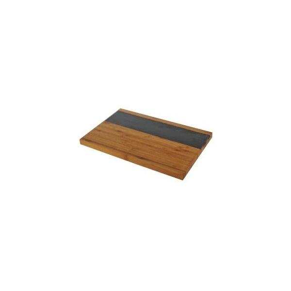 Bambusový servírovací podnos Bambum Truzo, 35 x 22 cm