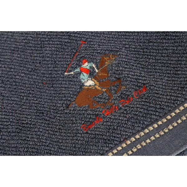 Tmavě modrá osuška BHPC, 80x150 cm