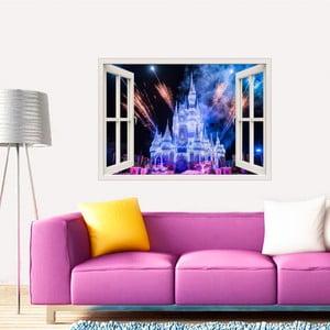Samolepka Fanastick s 3D efektem MaDéco The Wonderfull Castle