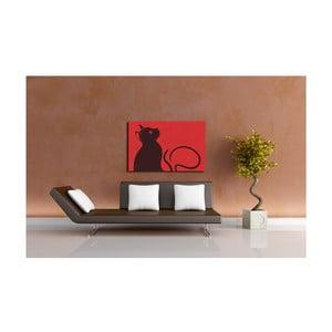 Obraz Melancholic Cat, 40x60 cm
