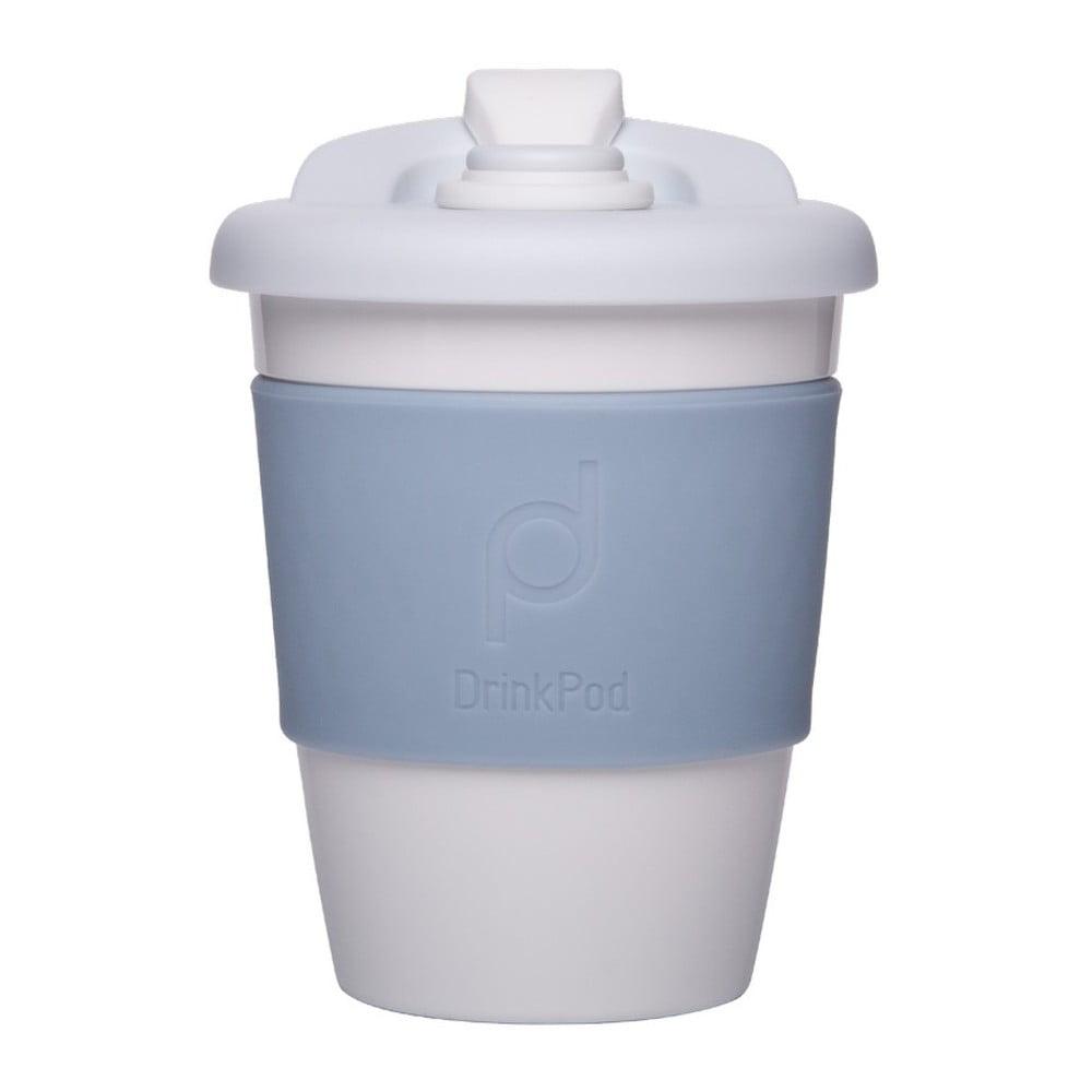 Světle modrý cestovní hrnek na kávu Pioneer Drink Pod Cofee, 340 ml