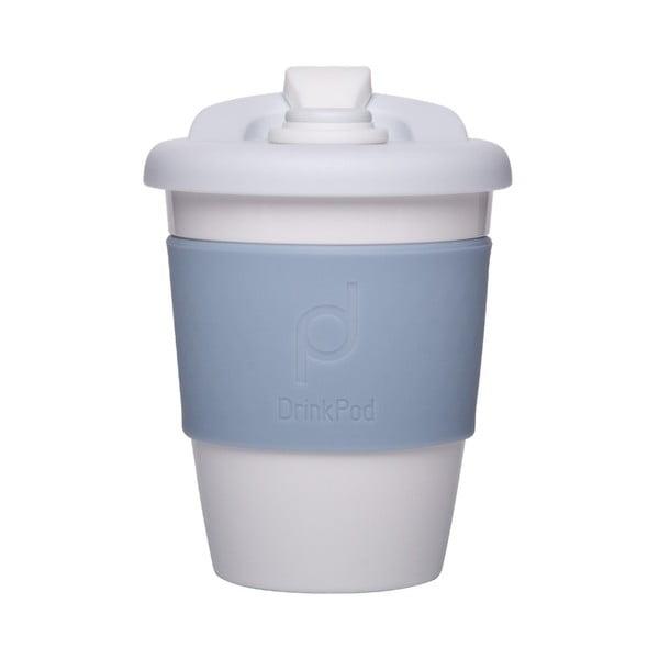 Svetlomodrý cestovný hrnček na kávu Pioneer Drink Pod Cofee, 340 ml