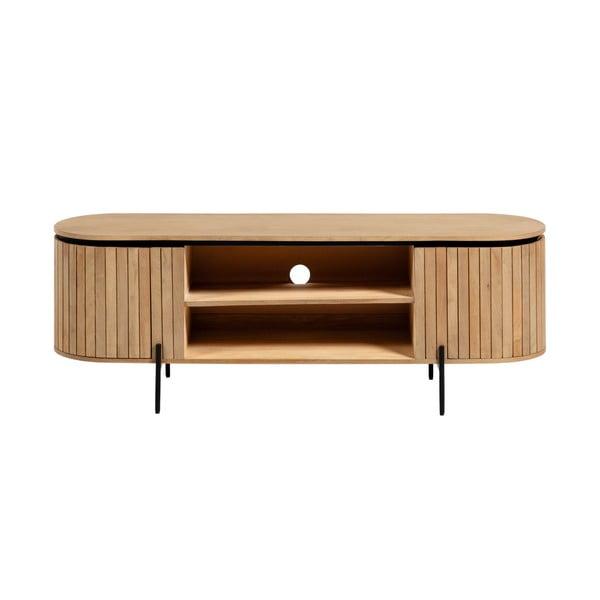 Světle hnědý TV stolek La Forma Licia, 160 x 55 cm
