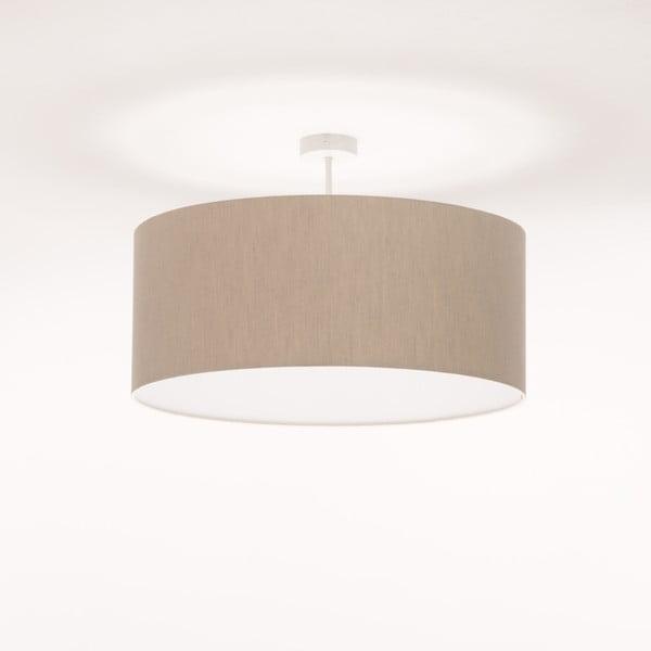 Krémové stropní světlo 4room Artist, Ø 60 cm