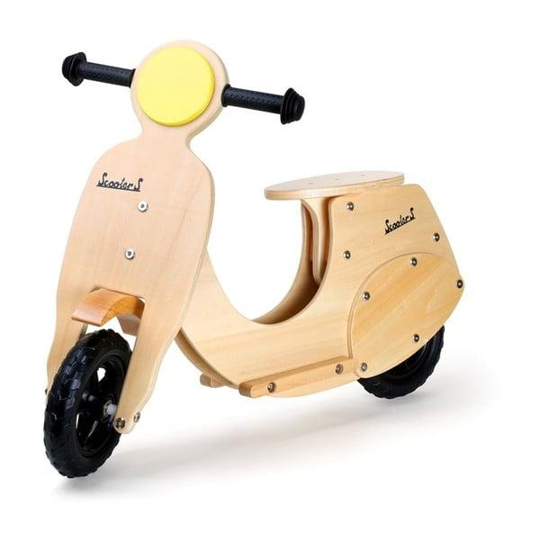 Motocicletă din lemn pentru copii Legler Wespe