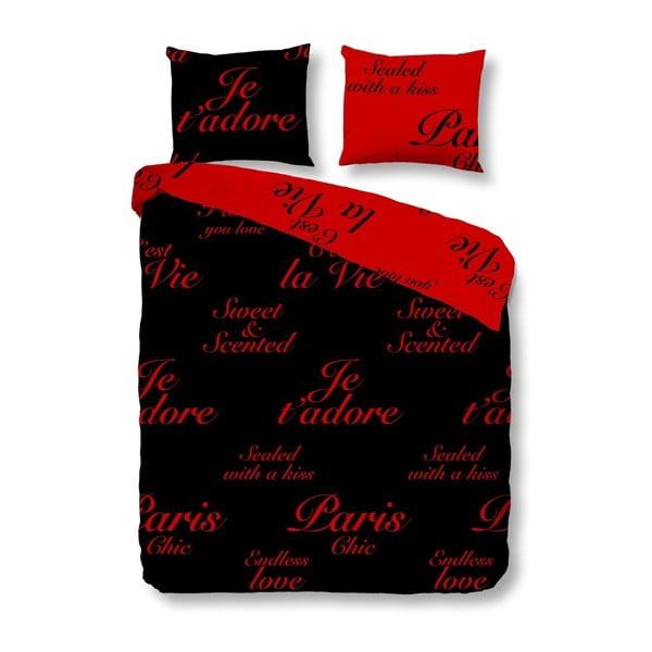 Povlečení Paris Black Red, 240x200 cm
