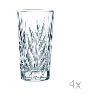 Sada 4 skleniček z křišťálového skla Nachtmann Imperial Longdrink, 380ml
