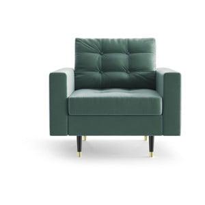 Zelené křeslo Daniel Hechter Home Aldo Mint