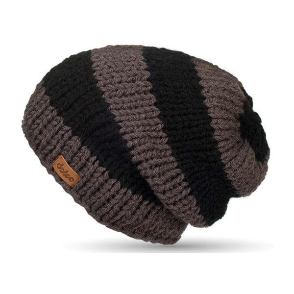 Ručně pletená čepice DOKE Stripes Beanie