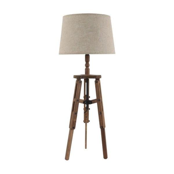 Industriální stolní lampa Wooden Tramp